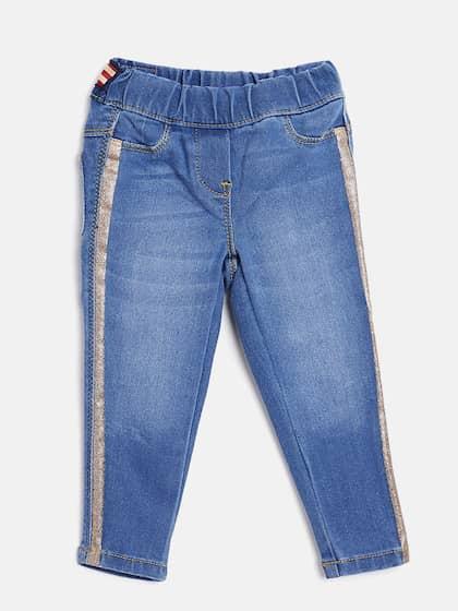 6ca113aca Girls Jeans Trousers Capris - Buy Girls Jeans Trousers Capris online ...