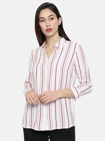 d9f56930aa9 Women Shirts - Buy Shirts for Women Online in India
