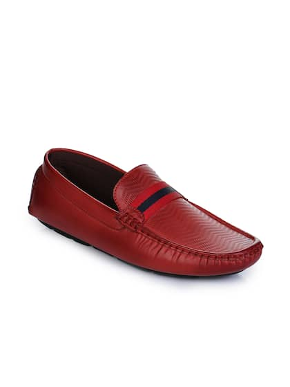 e8201e9108d Maroon Loafers - Buy Maroon Loafers online in India