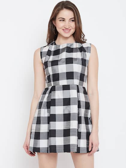 d9b986bdf2 Checked Dresses - Buy Checked Dresses online in India
