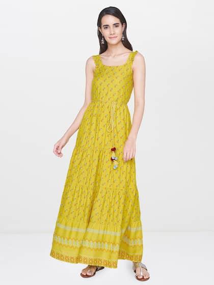 3c984d6702 Global Desi. Women Printed Maxi Dress