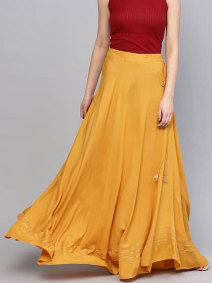 8b02a6722 Maxi Skirts | Buy Maxi Skirts Online in India at Best Price