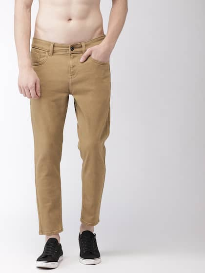 special selection of the best on feet images of Khaki Jeans - Buy Khaki Jeans online in India