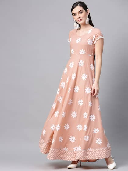 87e68a7396 Long Dresses - Buy Maxi Dresses for Women Online in India - Upto 70% OFF
