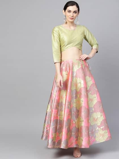 a2a0b85666 Lehenga - Buy Designer Lehengas Online in India | Myntra
