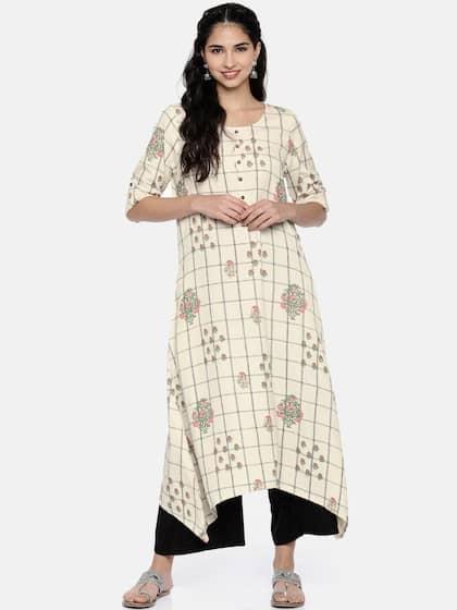 b9399d4c0b Asymmetric Kurtas - Buy Asymmetric Kurtas online in India