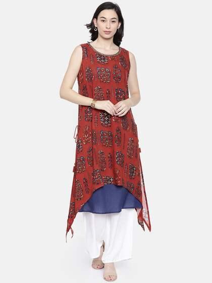 d455a18459 Layered Kurtas - Buy Layered Kurtas online in India