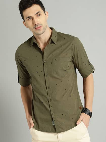 32a9c7ea Buy Roadster Shirts For Men & Women Online at Myntra