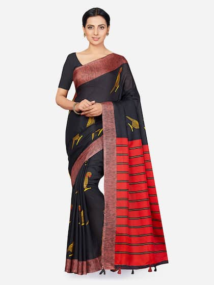 66224f942 Jute Silk Sarees - Buy Pure Jute Silk Saree Online