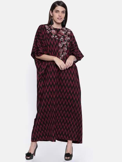 0dad559d2ec1 The Kaftan Company. Women Embellished Maxi Dress