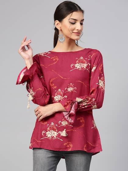 5fd846820ada24 Tunics for Women - Buy Tunic Tops For Women Online in India