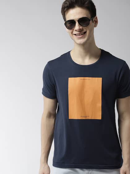 a38c5c03fd Men T-shirts - Buy T-shirt for Men Online in India | Myntra