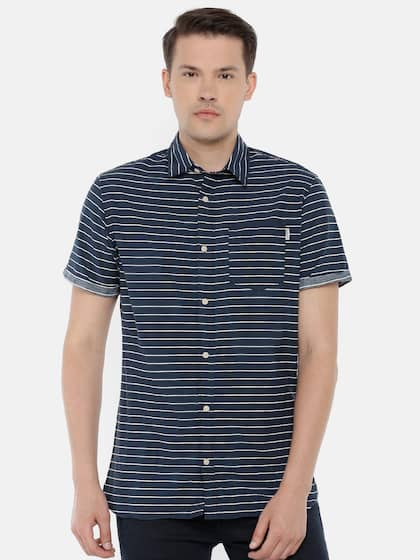 718ce1043ca7 Short Sleeve Shirts - Buy Short Sleeve Shirts Online in India