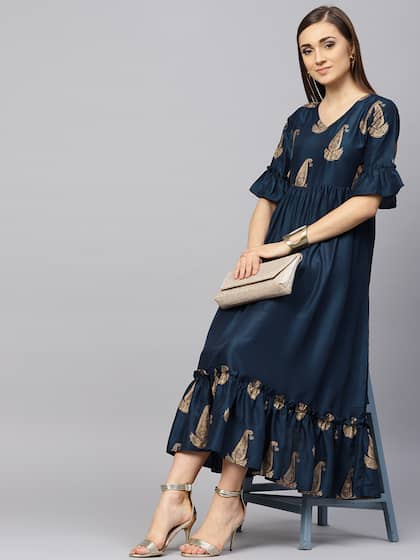 c4a42682bbf Long Dresses - Buy Maxi Dresses for Women Online in India - Upto 70% OFF