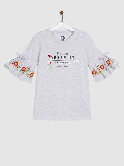 06ad9ae2 Girls Tops - Buy Stylish Top for Girls Online in India | Myntra