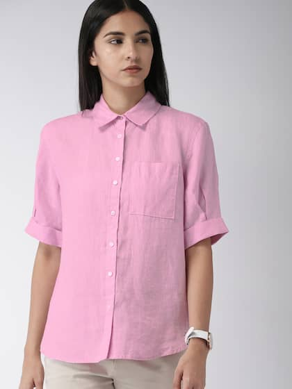 3f9da7c4 Women Shirts - Buy Shirts for Women Online in India | Myntra