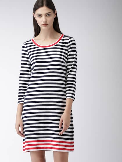 44df69ef Tommy Hilfiger Dresses - Tommy Hilfiger Dress Online | Myntra