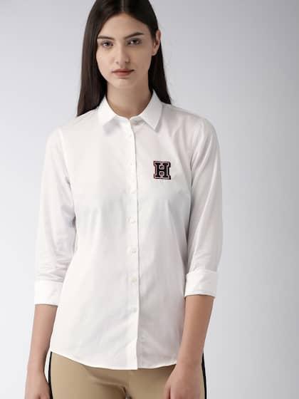 482b4ada Tommy Hilfiger Women Shirts - Buy Tommy Hilfiger Women Shirts online ...
