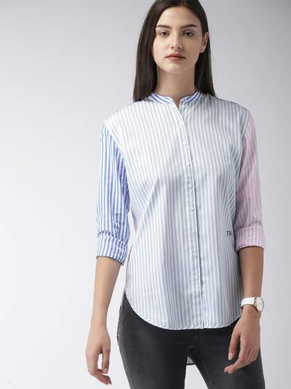17ecac5e Tommy Hilfiger Women Shirts - Buy Tommy Hilfiger Women Shirts online ...