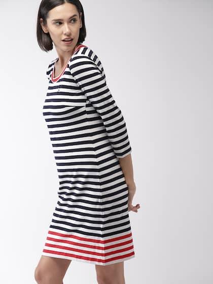 8a6587d6d Tommy Hilfiger Dresses - Tommy Hilfiger Dress Online | Myntra