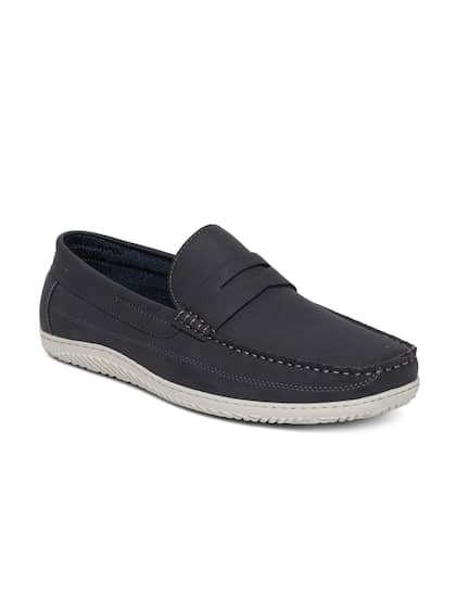 b56a67dec3a Navy Blue Loafers - Buy Navy Blue Loafers online in India