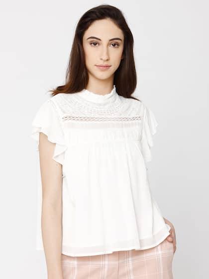33cb8ecfe819c3 Vero Moda Tops | Buy Vero Moda Tops for Women Online in India at ...