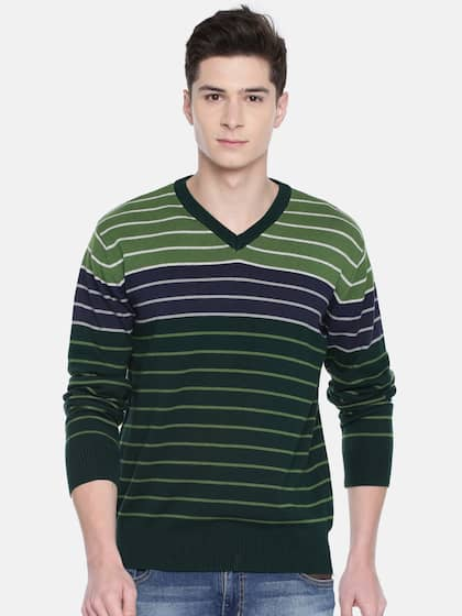 0d3239890b92 Akiva. Men Striped Sweater