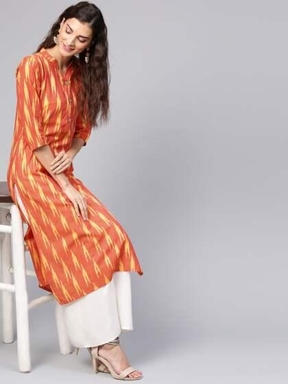 47734ab0c Ikat Kurtas - Buy Ikat Kurtas online in India