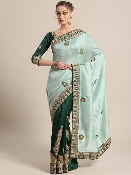 51654f04e37913 Half   Half Sarees - Buy Half Sarees Online in India - Myntra