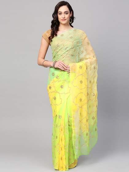 0622bcff7 Chiffon Saree - Buy Elegant Chiffon Sarees online - Myntra