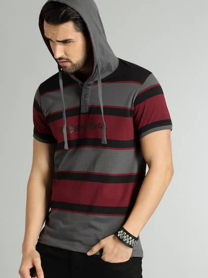 d727690a Hooded Tshirts - Buy Hooded Tshirts online in India