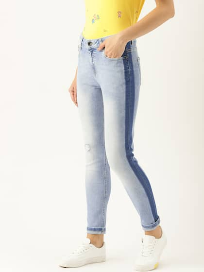 28b6fcaa2b4 United Colors Of United Colors Of Benetton Ripped Denim Jeans - Buy ...