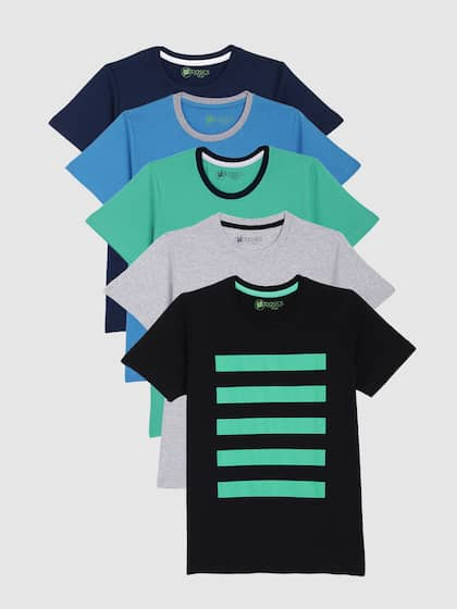 1be627eb Kids T shirts - Buy T shirts for Kids Online in India Myntra