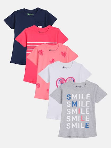 fde76d97c Tops for Girls - Buy Girls Tops & Tshirts Online - Myntra