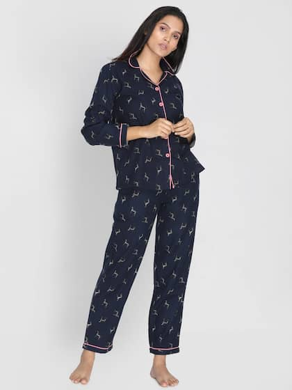 e05e1ad7cce Night Suits - Buy Night Suits for Men   Women Online - Myntra