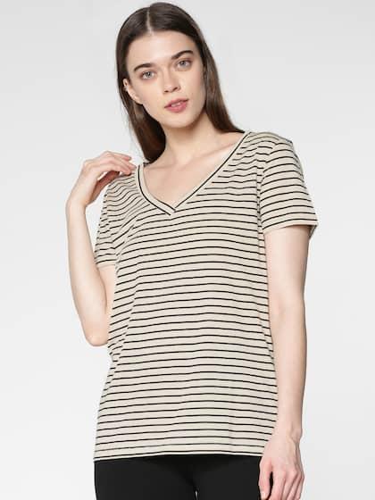 dae8b74d124 V Neck T-shirt - Buy V Neck T-shirts Online in India