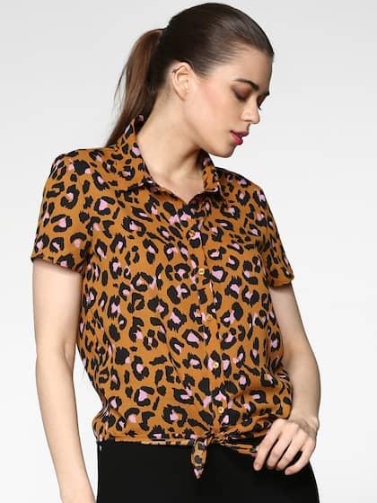 50a43c59dfd Women Shirts - Buy Shirts for Women Online in India
