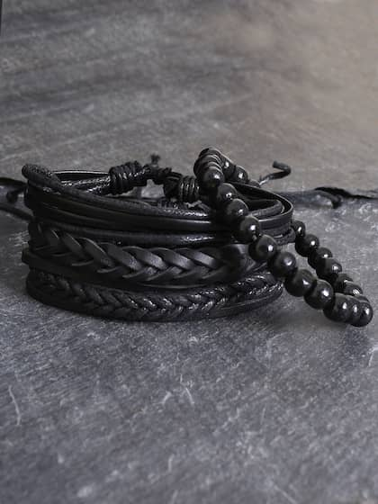 0da0e90505 Mens Bracelets - Buy Bracelet for Men Online | Myntra