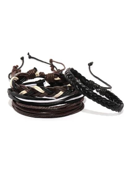 8c918627ef7f8b Black Bracelet - Buy Black Bracelet Online in India