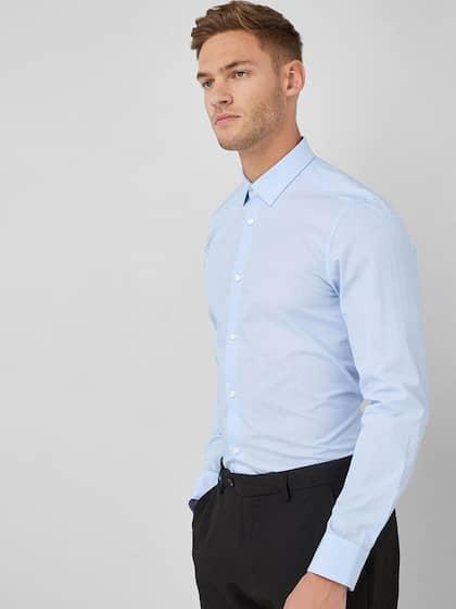 0e9ba69bd8 Formal Shirts for Men - Buy Men's Formal Shirts Online | Myntra