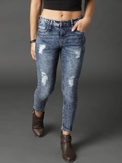 0cdb013b96957 Ripped Jeans - Shop for Ripped Jeans Online in India | Myntra
