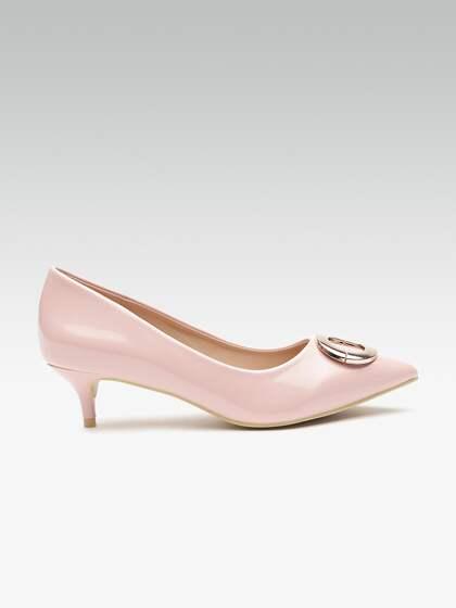 8ed15baa00b6 Peach Heels - Buy Peach Heels online in India