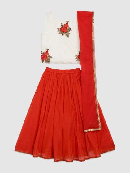 cd3ea340306 Lehenga Choli For Girls- Buy Girls Lehenga Choli online in India ...