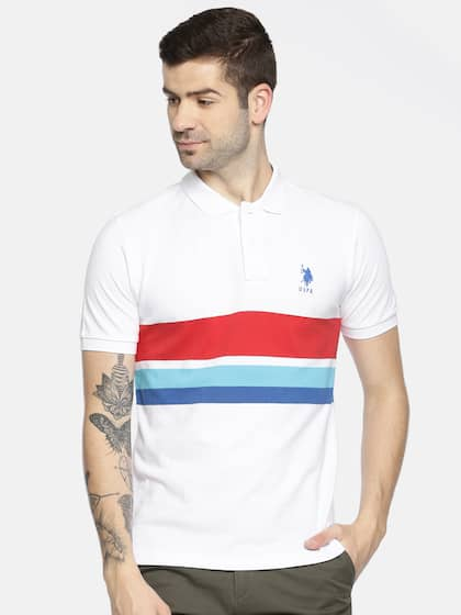 a39098c525 U S Polo T-Shirts - Buy U S Polo T-Shirts For Men & Women | Myntra