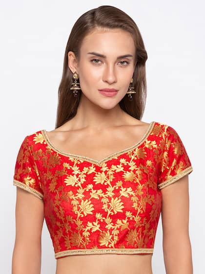 3eda1e34435 Blouses - Shop for Designer Blouse Online in India