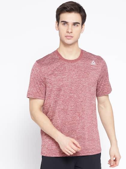 d14875dd Reebok Tshirts - Buy Reebok Tshirts Online in India | Myntra