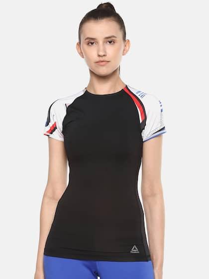 61a16ebe Reebok Tshirts - Buy Reebok Tshirts Online in India | Myntra