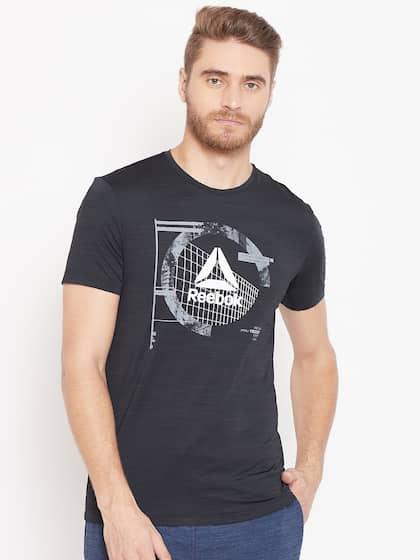 01c0567f Reebok Tshirts - Buy Reebok Tshirts Online in India   Myntra