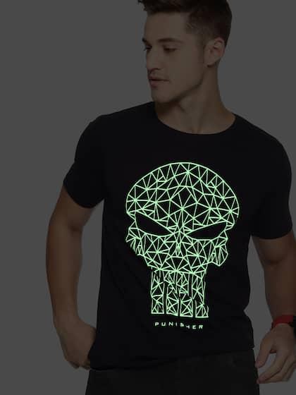 79019c5ed82 Black T-shirts - Buy Black Colour T-shirts Online