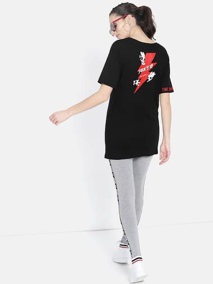 b4391dfc3fbd30 T-Shirts for Women - Buy Stylish Women's T-Shirts Online | Myntra